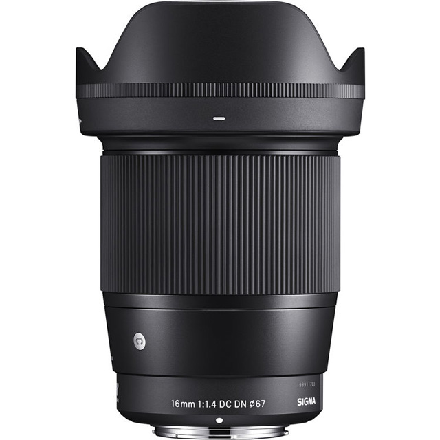 Sigma 16mm F/1.4 DC DN for Sony E-Mount