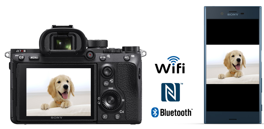 sony a7r iii wifi nfc bluetooth