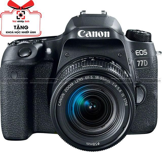 Canon EOS 77D KIT EF-S 18-55mm F/3.5-5.6 IS STM