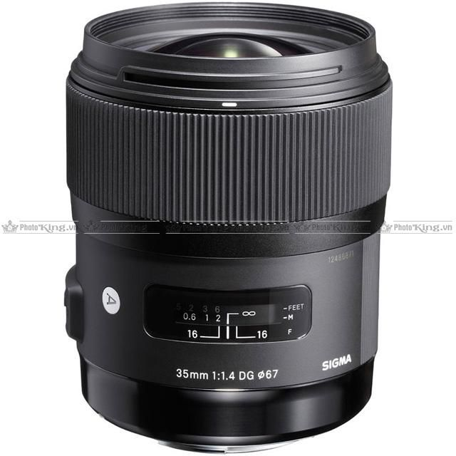 Sigma 35mm F/1.4 DG HSM ART (Ca/Ni)
