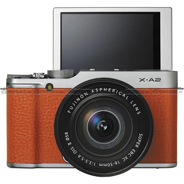 Fujifilm X-A2 KIT 16-50mm F/3.5-5.6 OIS II Cũ ( Màu Brown )